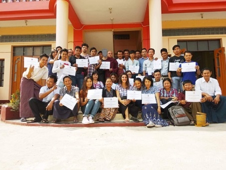 certification myanmar